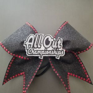 All Out Bling Cheer Bow